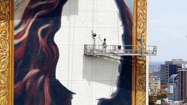 18-storey portrait of Nicole Kidman to promote TV series The Undoing – NEWS.com.au
