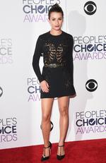 Glee's Lea Michele at the People's Choice Awards 2016. Picture: Jason Merritt/Getty Images/AFP