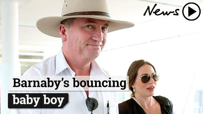 Bundle of Joyce: Barnaby's baby is here!
