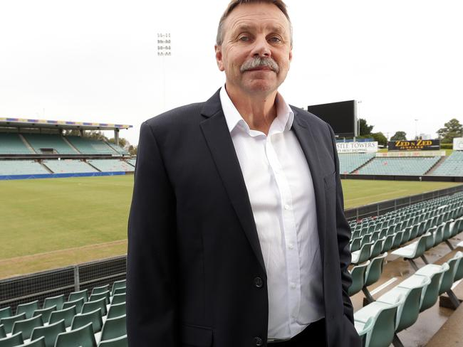 Parramatta Eels chairman boss Steve Sharp.