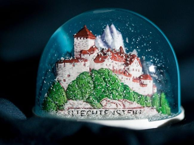 Drug traffickers attempted to hide liquid ice in 15 snow globes. Picture: Getty Images