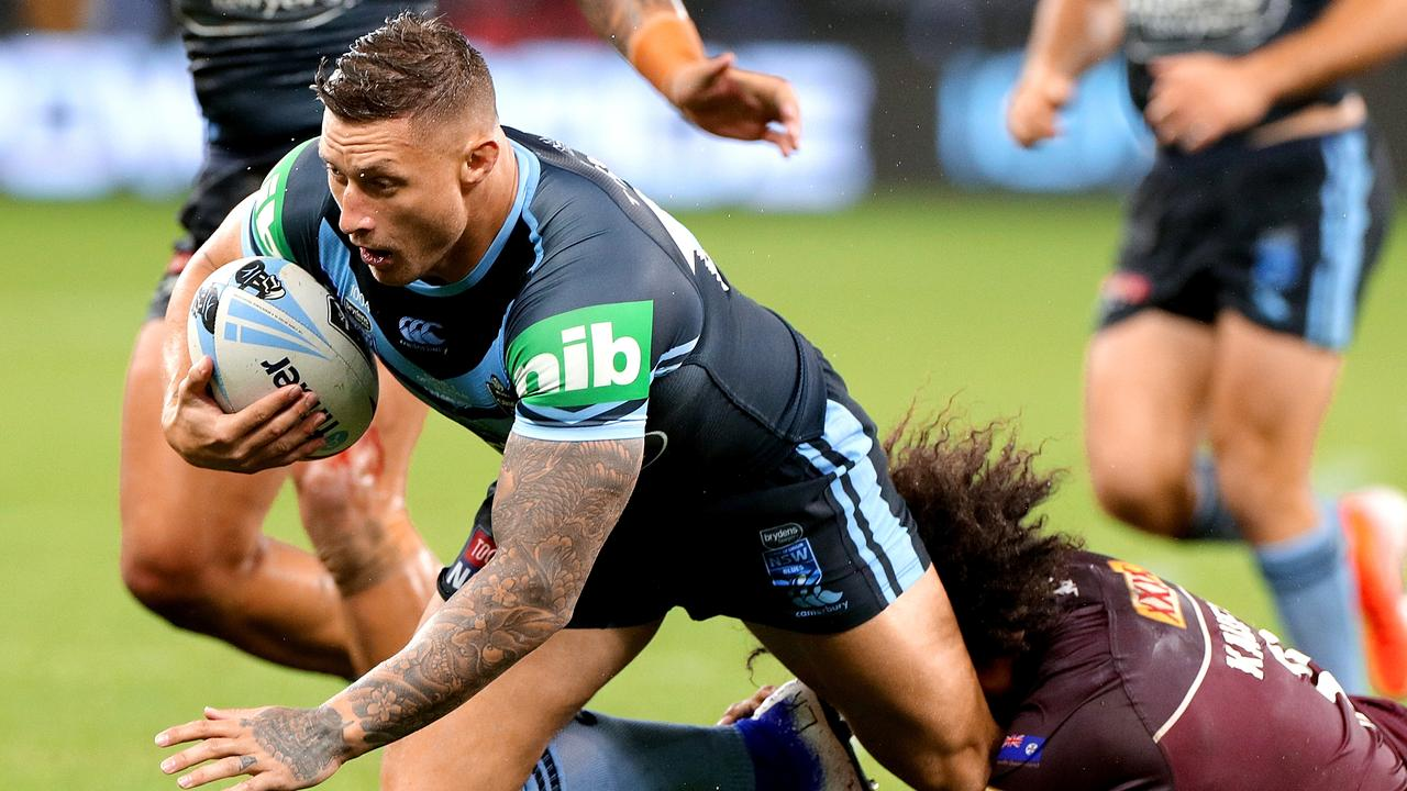 Tariq Sims will fight a charge at the judiciary in a bid to play in the Origin decider.