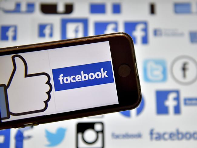 Cambridge Analytica is at the heart of a scandal over the use of personal data collected on Facebook. Picture: Loic Venance/AFP