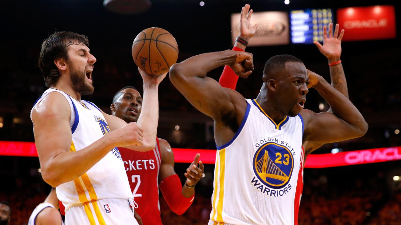 Bogut and Green formed a formidable defensive duo for the Warriors.
