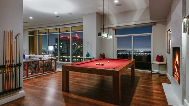 Inside Matthew Perry's jaw dropping LA apartment. Picture: Michael MacNamara and Jason Speth