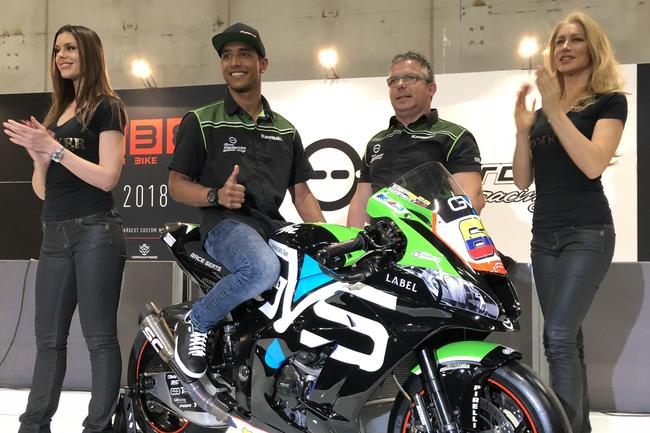 Yonny Hernandez is signed to ride for Pedercini Racing in the 2018 WorldSBK. Pic: Pedercini