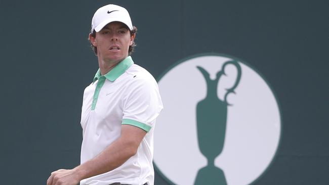 Rory McIlroy is a big chance to win his first British Open.