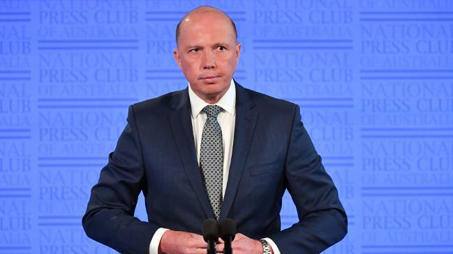 Peter Dutton rejects migrant cut