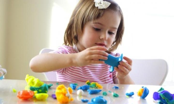 Play dough colour creation