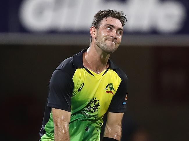 Glenn Maxwell is just happy to be in the conversation.