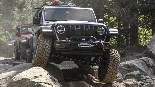 Jeep Wrangler Rubicon: New-generation 4WD tested off road