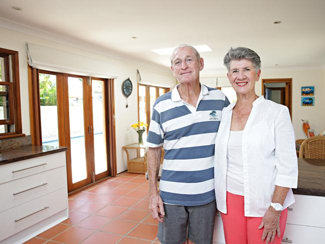Doug and Larraine Dickinson sold in Narrabeen to a young family.