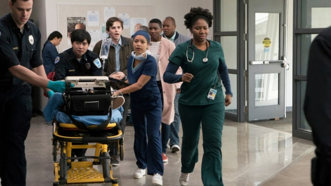 A scene from the opening episode of 'The Good Doctor'. Photo: Seven