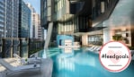 An urban oasis in the heart of Brisbane. Image: Westin Brisbane