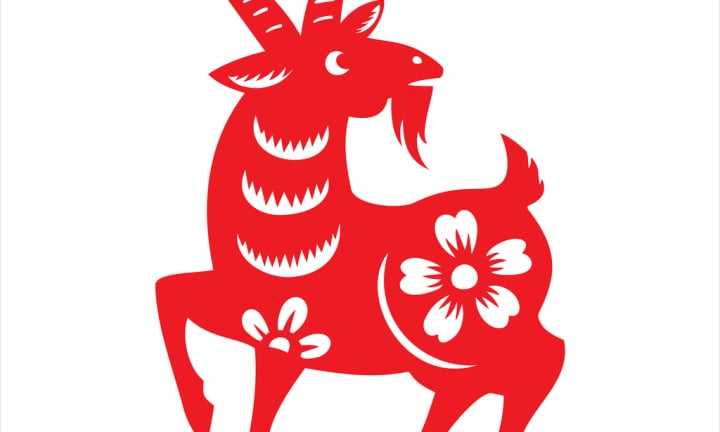 Goat, year of the goat, zodiac, chinese zodiac sign