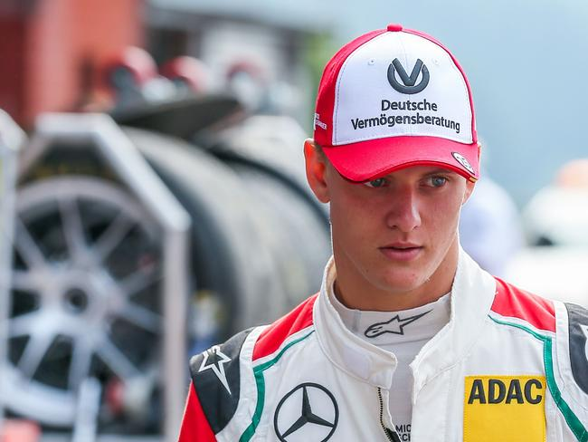 Mick Schumacher, the 18-year-old son of seven-time Formula 1 world champion Michael, is already winning races.