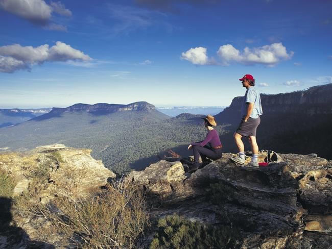 The Blue Mountains are well worth a visit, if you can find them. Picture: Hugh Stewart
