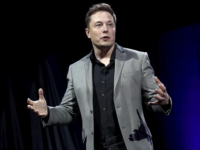 Tesla Motors CEO Elon Musk. Picture: Reuters