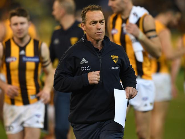 Alastair Clarkson has work to do. (AAP Image/Julian Smith)