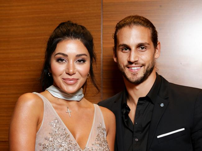 The MAFS couple are still going strong. Picture: Jonathan Ng