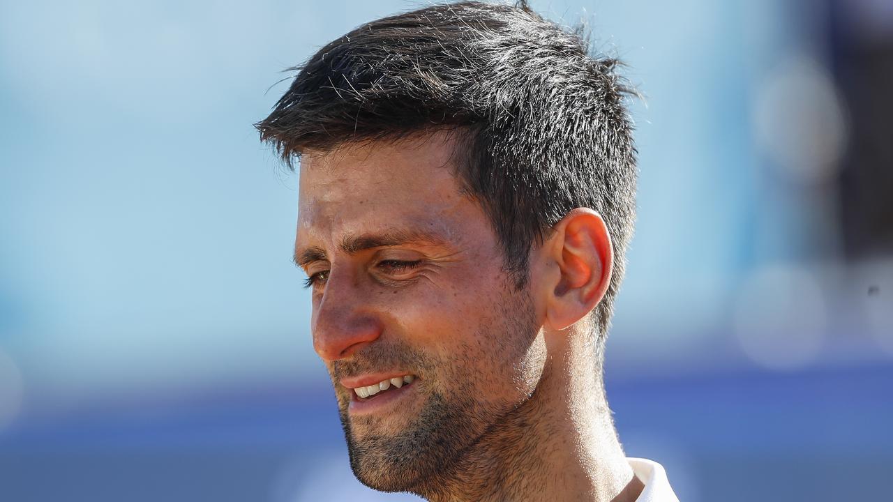 Novak Djokovic has tested positive for COVID-19.