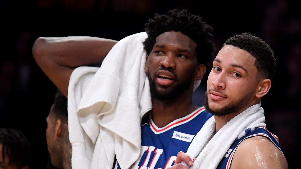 Ben Simmons and Joel Embiid have taken the Sixers to the playoffs twice.