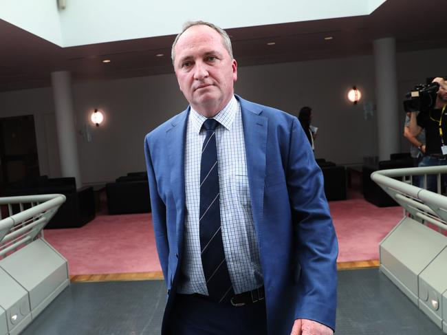 There is speculation Barnaby Joyce could take over as leader of the Nationals. Picture: Gary Ramage