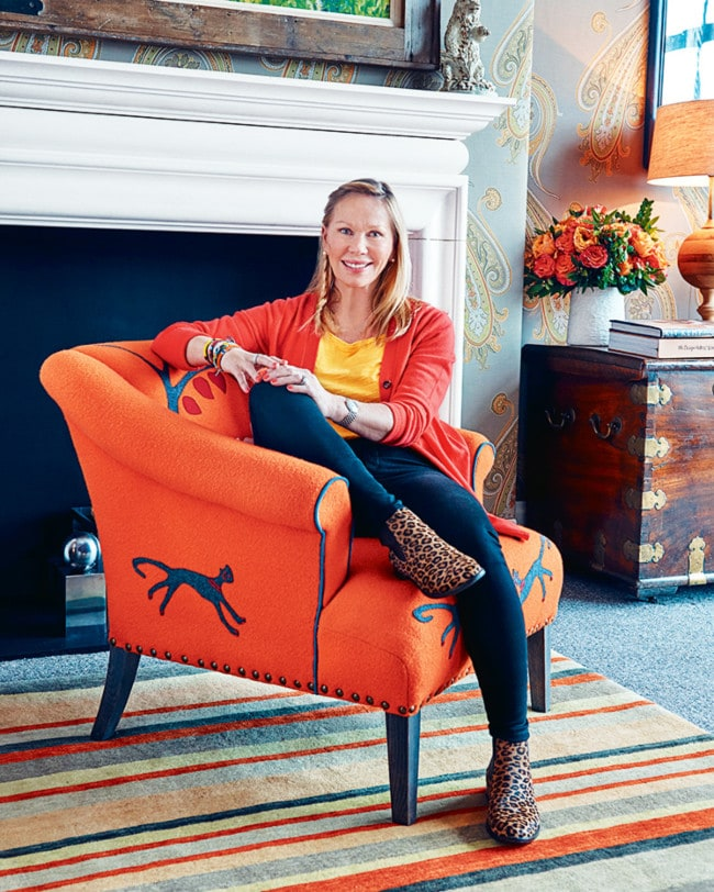 Designer Kit Kemp: Interior Designer Kit Kemp Makes Folk Art Cool Again