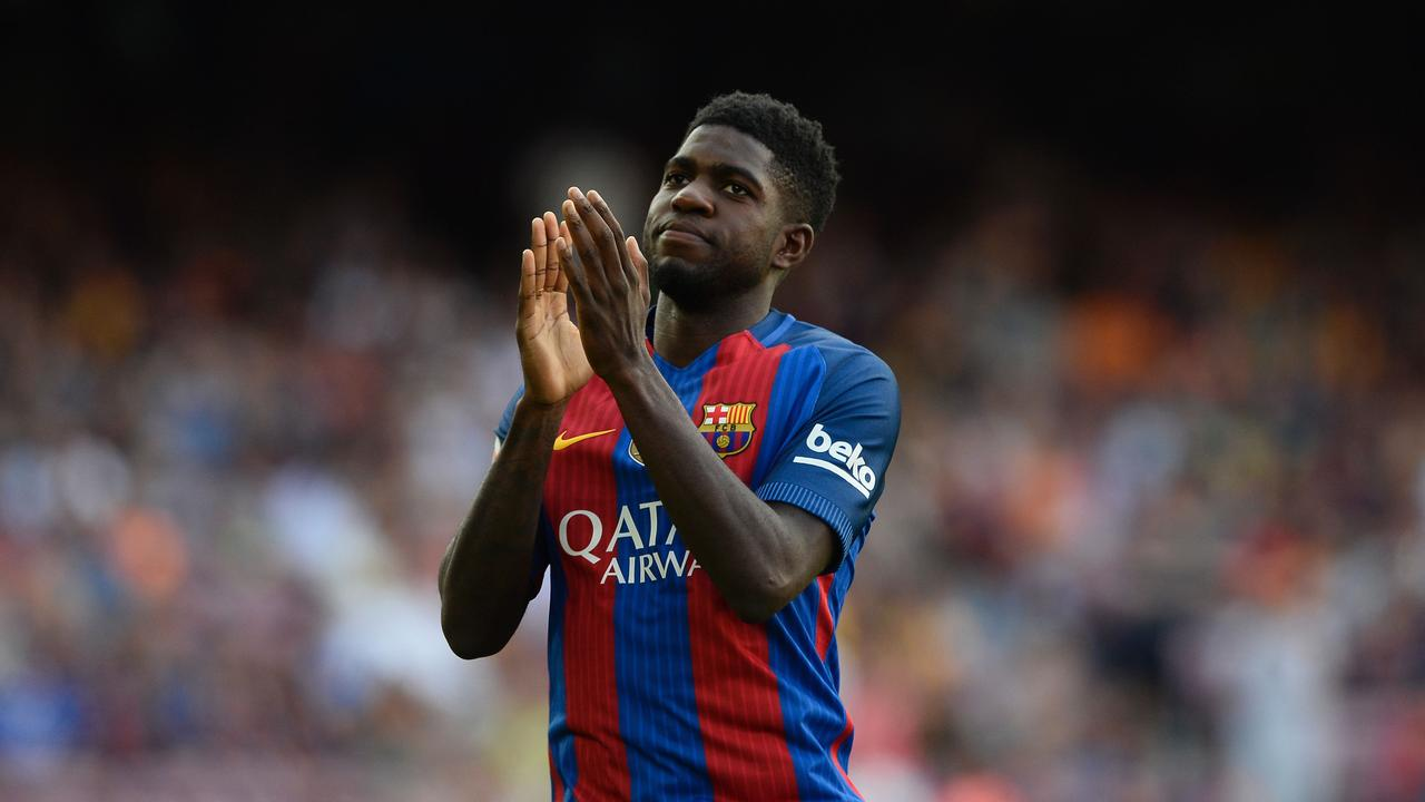Samuel Umtiti signed for Barca from Lyon in 2016