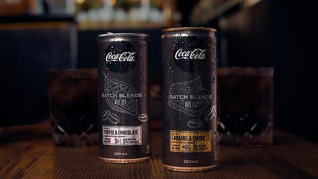 The new blend mixes coffee and chocolate, or coffee and caramel with the taste of Coca-Cola No Sugar.