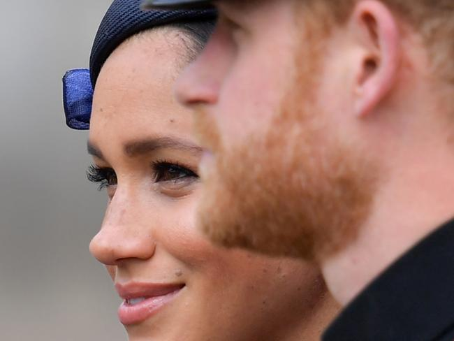 Much has been written about the earning potential of the Sussexes unleashed from royal constraints, but concerns exist over monetising the royal brand. Picture: Daniel Leal-Olivas / AFP.