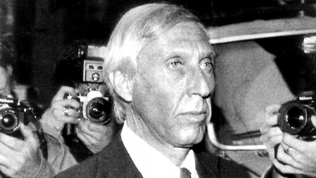Ivan Boesky arrives at Federal Court.