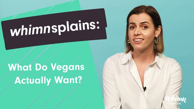 whimnsplains: What Do Vegans Actually Want?
