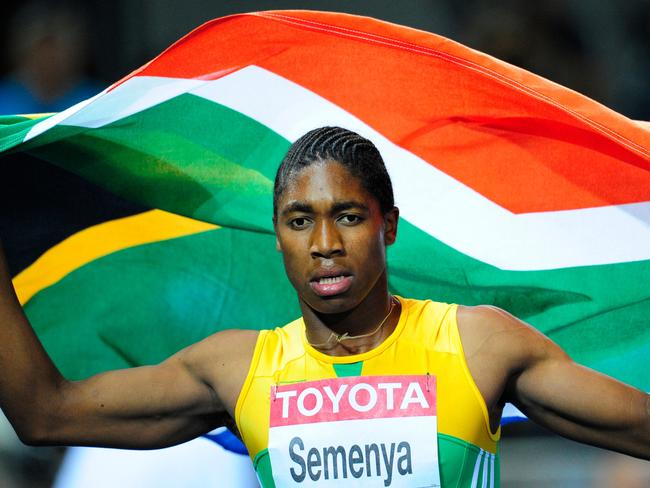 Caster Semenya banned from racing.