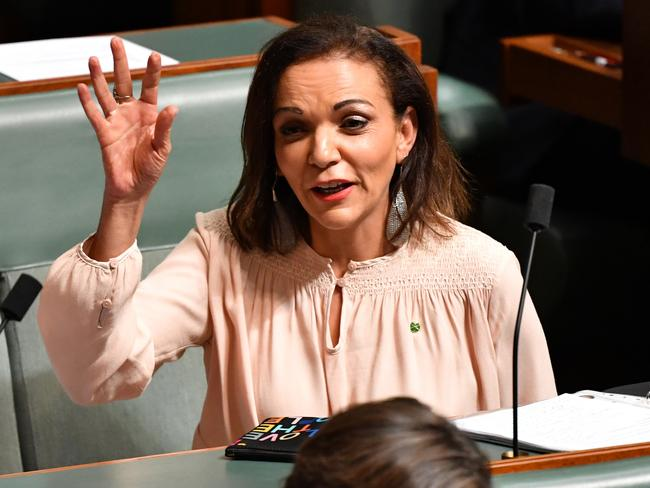 Labor Member for Cowan Anne Aly had a man enter her office with a large knife yesterday. Picture: Mick Tsikas/AAP
