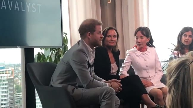 Prince Harry defends use of private jets after launching global initiative to promote sustainable travel