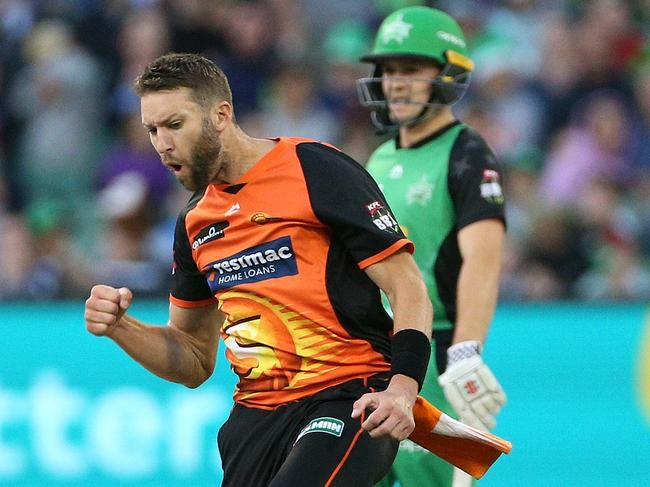 Andrew Tye was the man of the match.