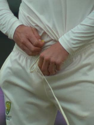 Cameron Bancroft was caught with his pants down.