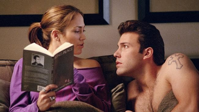 "Career nadir: Ben Affleck and Jennifer Lopez in ""the worst film ever made"" Gigli"
