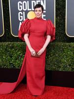 BEVERLY HILLS, CALIFORNIA - JANUARY 05: Olivia Colman attends the 77th Annual Golden Globe Awards at The Beverly Hilton Hotel on January 05, 2020 in Beverly Hills, California. (Photo by Jon Kopaloff/Getty Images)