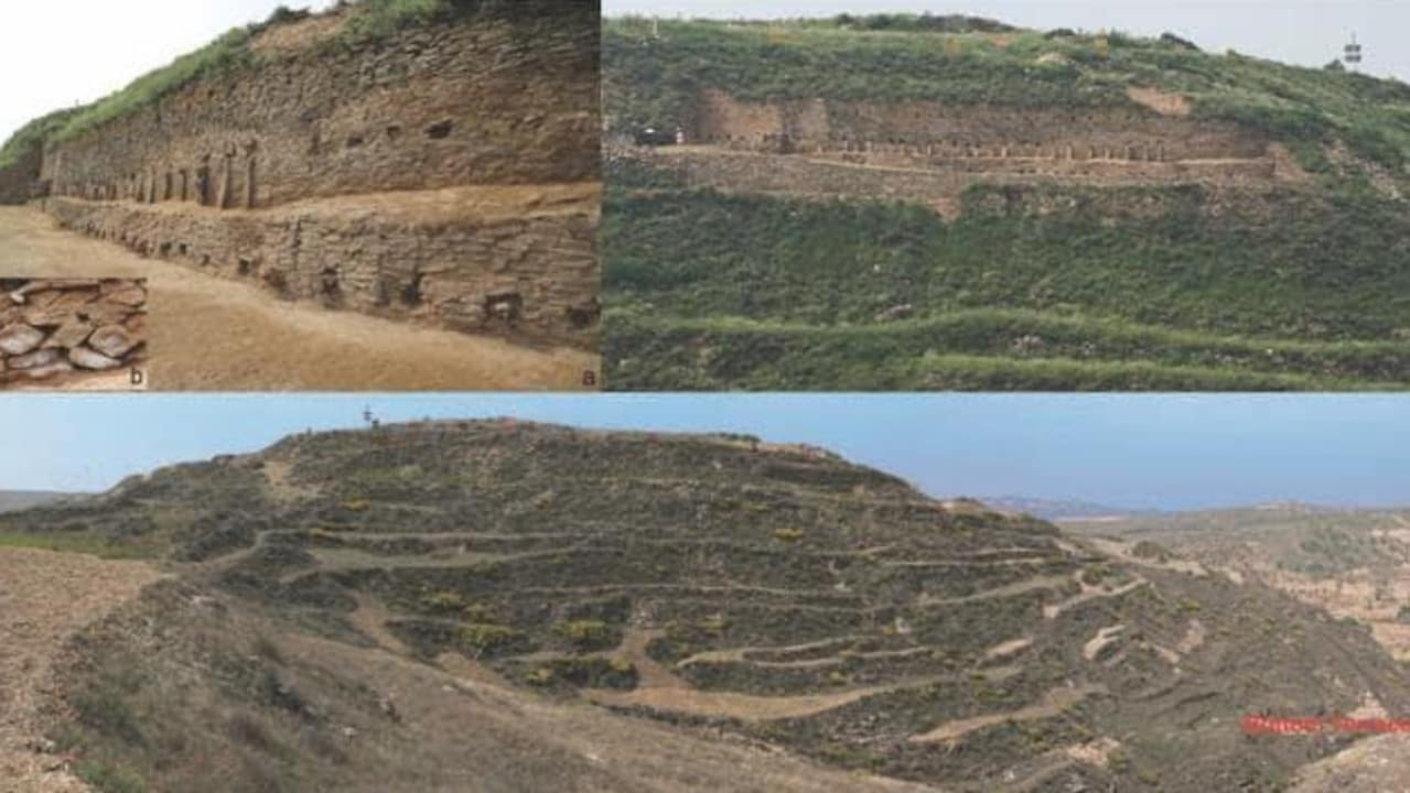 Ancient Chinese pyramid found in a lost city.