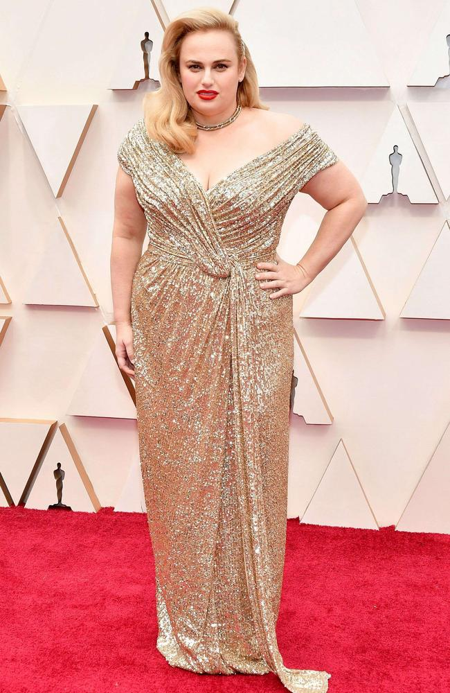 Rebel Wilson. Picture: Amy Sussman/Getty Images/AFP