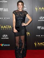 Brooke Satchwell at the 4th AACTA awards at The Star Hotel in Sydney. Picture: Andrew Murray