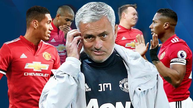 Jose Mourinho's back four problem