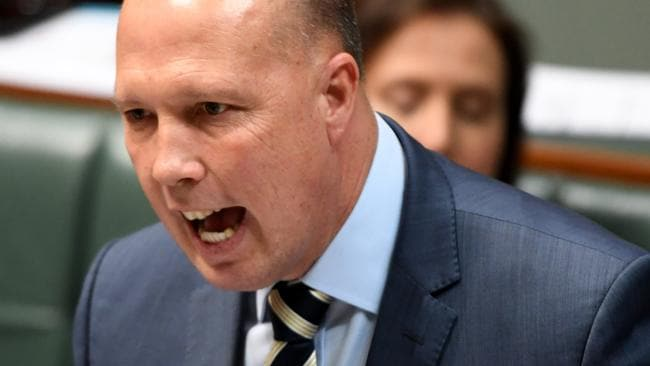 Peter Dutton said his opponent used her disability 'as an excuse' (Photo by Tracey Nearmy/Getty Images)