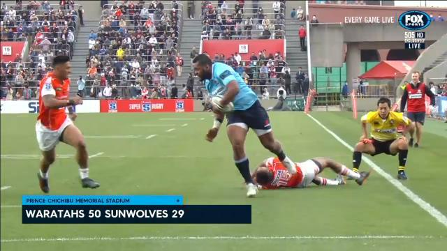 Tahs thump Sunwolves