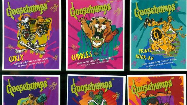 1996 was the year of the Goosebumps Glow in the Dark Tattoos.