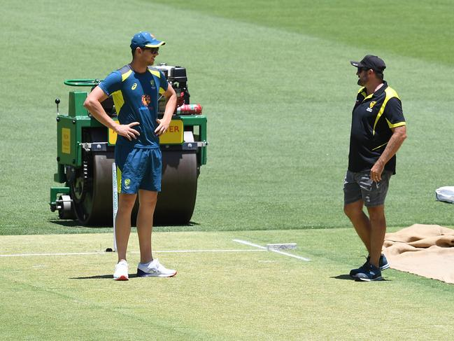 The Perth strip may play a few tricks in the first Test.