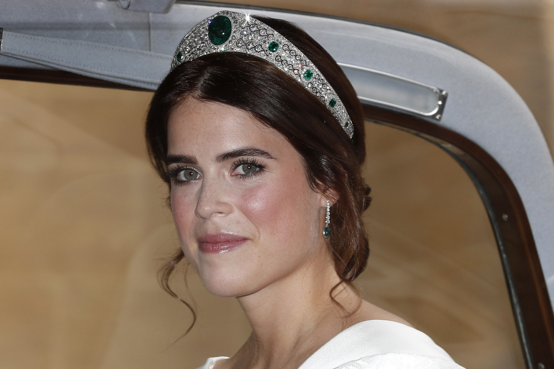 Princess Eugenie's 'something borrowed' at her wedding belongs to Queen Elizabeth