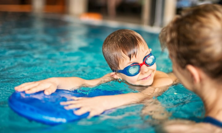 Turns out there are plenty of reasons to keep up swimming lessons in winter